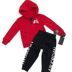 Toddler Boys Nike Air 2-Piece Matching Sweatsuit
